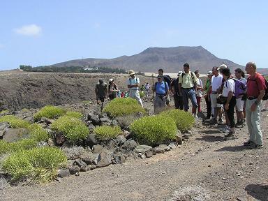 56 participantes en la caminata realizada por Turcón en el litoral del noroeste