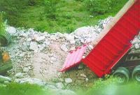 Vertidos de escombros en un Espacio Natural Protegido