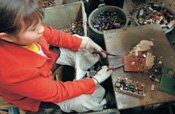 China, vertedero mundial de tecnobasura