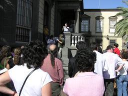 Especial día de los Derechos Humanos: fotos de la concentración en Las Palmas
