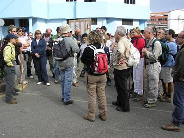 Ruta del Colectivo Turcón-Ecologistas en Acción a Arucas