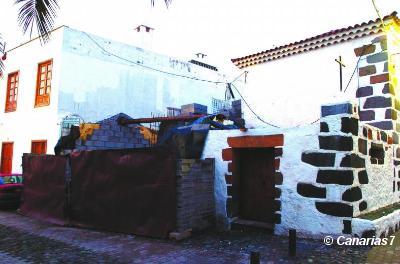 Turcón pide que se aclare el derribo de una casa protegida