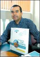 """Alvaro Monzón Santana, autor del libro de rutas a pié """"Descubriendo Gran Canaria"""": 'Mi libro es una invitación a descubrir Gran Canaria y a salir a la naturaleza'"""
