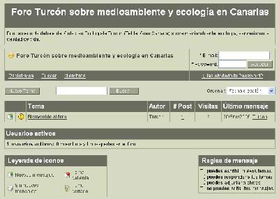 Creado el <i>Foro Turcón de medioambiente y ecología en Canarias</i>