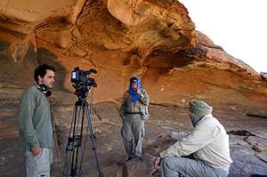 Un documental del CSIC homenajea a una expedición española realizada al desierto del Sáhara en 1945