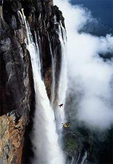 Descubren la tercera catarata de mayor altura del mundo
