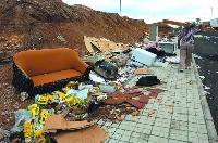 Vertidos de basura en Botija-Gáldar