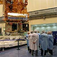 Un gran satélite europeo para vigilar el clima y el tiempo