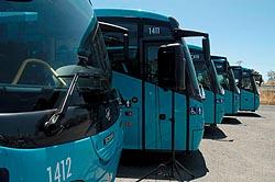 La primera guagua laboral, una nueva modalidad de transporte colectivo