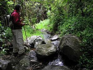 Foto de la ruta de Turcón por el Barranco de la Mina