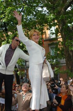Plataforma S.O.S. Arboles del paseo del Prado y la baronesa Carmen Cervera