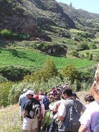 Ruta de Turcón al Barranco de Colmenillas