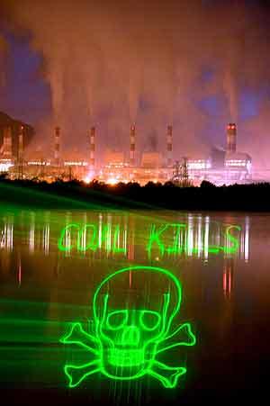 Greenpeace pide al Ministro de Industria que no imponga un desarrollo insostenible