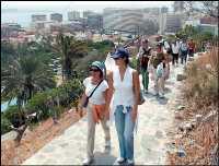Senderismo urbano : Ruta en Las Palmas de Gran Canaria