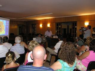 Álvaro Monzón presentó su conferencia en las fiestas de Tunte