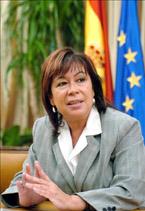 Cristina Narbona, Ministra de Medio Ambiente: ´En Canarias hay riesgos ambientales muy importantes, pero son reconducibles´