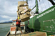 La Autoridad Portuaria de Cartagena deniega el acceso al barco de Greenpeace
