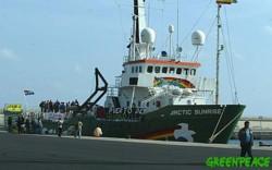 Greenpeace alerta del riesgo de las próximas maniobras de la OTAN en Canarias.