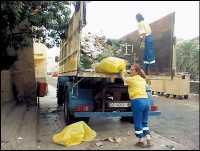 Las Palmas de Gran Canaria gasta cada año 674.000 euros en retirar la basura y vertidos incontrolados de barrancos y solares