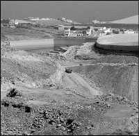 El juzgado paraliza la ocupación de la cantera de piedras del empresario Félix Santiago en Gáldar