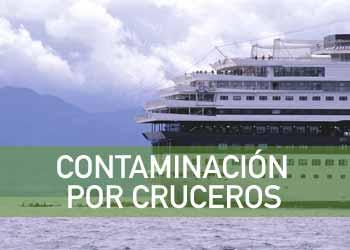 Los cruceros también contaminan el mar