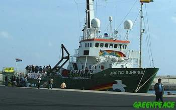 Greenpeace en Canarias