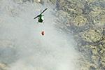 Un incendio arrasa cien hectáreas en las medianías de Gran Canaria y obliga a evacuar a un centenar de vecinos