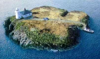 En esta isla ya estaba faltando una carretera