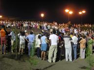 La acción ciudadana paraliza la tala de arboles en Melenara