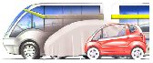 Multicat's: concepto de transporte urbano barato y sin contaminación