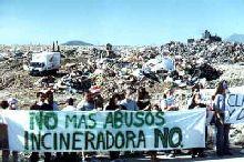 Gran Canaria : manifestación contra la incineración