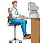 Un 75% de las personas que trabajan con computadores sufren molestias en los ojos
